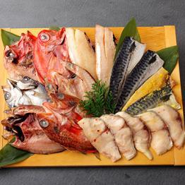 富岡の漬魚・干物バラエティセット