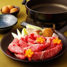 長崎和牛肩ロースすき焼き/長崎和牛すき焼きたっぷり御一人様用