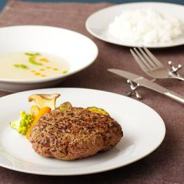 梅月 長崎和牛×SPF豚ハンバーグステーキ